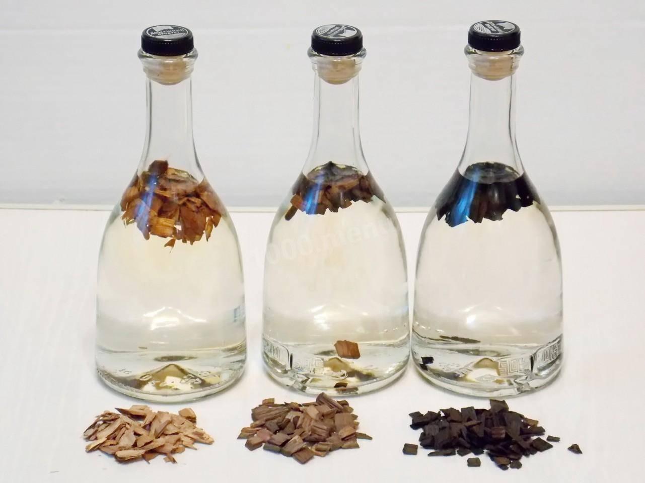 Самогон на дубовой щепе – рецепт